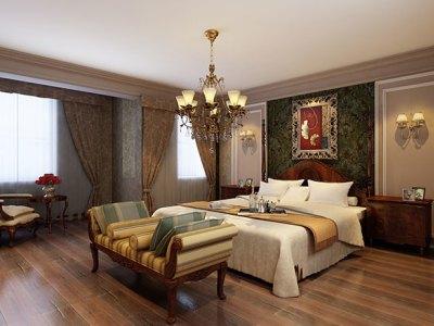 欧美风情-179平米三居室装修样板间