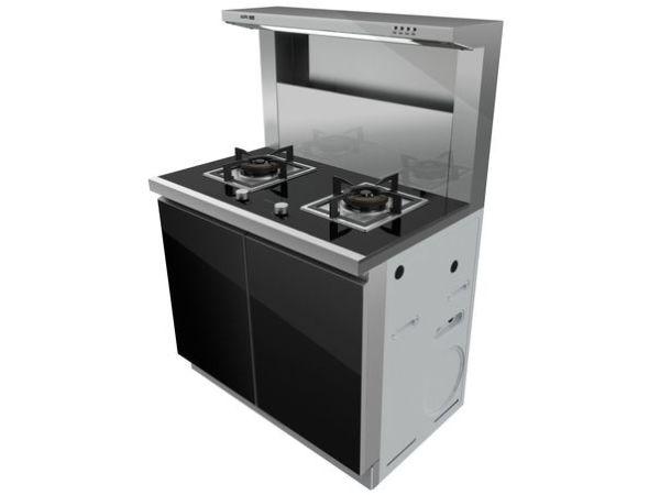 奥普集成灶 给你一个无烟厨房