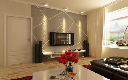 纯天然硅藻泥/电视背景墙