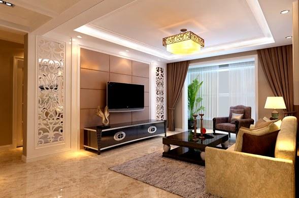简欧风格-120平米二居室-装修设计