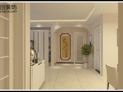 现代简约-124.24平米三居室装修样板间