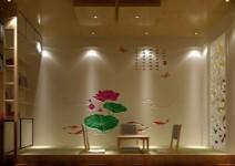 纯天然硅藻泥/餐厅背景图片