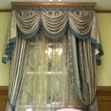 宝盛华庭装饰艺术卷叶草织锦刺绣花边窗帘