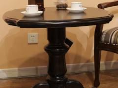 欧领度实木咖啡圆桌
