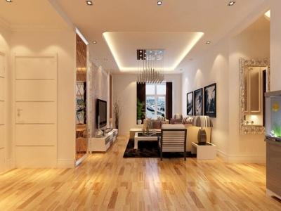 现代简约-89平米二居室装修样板间