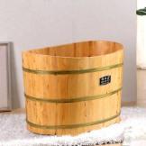 雅仕嘉 宝宝浴桶 香柏木泡澡桶 婴儿洗澡桶