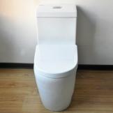 惠达卫浴 HDC161Z纳米自洁釉马桶 连体座便器