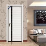 爱迩美书房门 免漆木门 环保静音客厅门 实木拼接