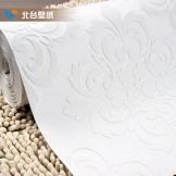 北台欧式天花板墙纸 无纺布 3D立体高发泡