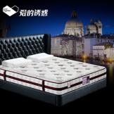 伊丽百兰双人席梦思床垫 弹簧1.51.8米棕垫 老人椰棕硬床垫
