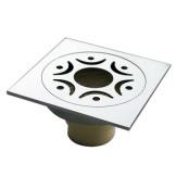 伟星方形地漏全铜主体 ABS防虫防臭芯 卫生间淋浴房阳台通用地漏