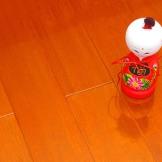 大自然实木地板 番龙眼木地板 18mm环保烤漆地板