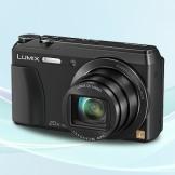 松下DMC-ZS35GK-K数码相机 1600万像素 3英寸屏 全景自拍