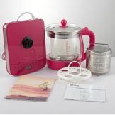 双狐养生壶 多功能加厚玻璃煮茶壶 全自动电热水壶