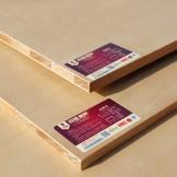 百强板材 柳桉 E0级细木工板 大芯板门窗套板材
