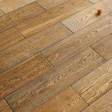 联谊懒人地板 三层实木 北美风格 拉丝复古款