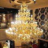 金达欧式水晶吊灯 施华洛世奇水晶灯 酒店会所别墅大客厅