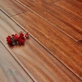 大自然地板 大叶相思 褐相思 18mm手刮仿古纯实木