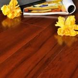 大自然地热地板 多层实木复合地板 名贵柚木表层