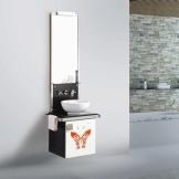 意中陶浴室柜 0.6米现代实木壁挂式浴室柜