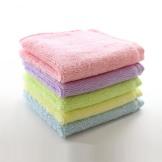 天源小方巾 竹纤维毛巾 超柔软宝宝婴儿口水巾