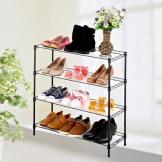 澳美佳四层鞋架 收纳架子 简易家具置物架 迷你架子