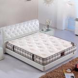 美神天然乳胶床垫 精钢弹簧双面床垫 5cm进口乳胶垫席梦思