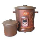 三源紫砂汤锅6.5L 电脑式电炖煮粥煲