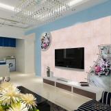蒙娜丽莎瓷砖 陶瓷背景墙 瓷砖客厅电视背景墙砖 福禄富贵