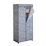 空间大师简约现代衣柜 韩式时尚简易布衣柜