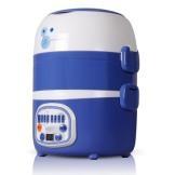 雅乐思三层智能电热饭盒 可插电加热 多功能