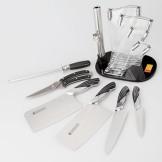 十八子作厨房套刀 雀之屏七件套S2601