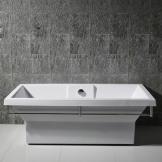 英士利 一体独立式浴缸 加厚无接缝 亚克力浴缸