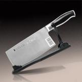 十八子作厨房刀具 黑狐银刃切片刀S2703-B