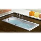 乐家 马里布矩形防滑浴缸1500*750MM