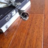 安信地板 茚茄木/大菠萝格 钢化地热 全实木