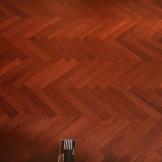 莫干山多层实木地板 实木复合地板 柞木人字拼地板