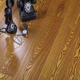 安心 水曲柳白蜡木多层实木地板 实木复合地板 暗香疏影