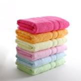 天源家纺竹纤维毛巾 擦脸洗脸巾 吸水纯色面巾