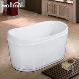 沃特玛 亚克力独立式浴缸1.3米 加厚加深