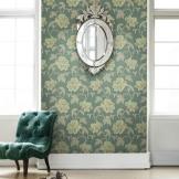 特普丽无纺布壁纸 浮雕立体3D卧室客厅背景墙墙纸 伊洛传芳