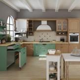 柏厨整体厨房厨柜 造型吸塑 全新一代橱柜