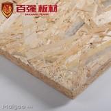 百强 欧松板 15mm 极品 无甲醛定向结构刨花板 板材