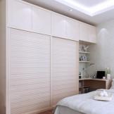 索菲亚 简约现代卧室家具套餐 整体衣柜书柜书桌组合