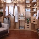 索菲亚整体衣帽间定制 步入式衣柜 木质板式