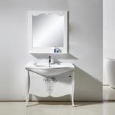 埃飞灵 新古典浴室柜组合 实木防水浴室柜