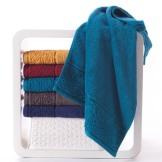金号纯棉高档大气毛巾 欧式优雅素色加厚毛巾