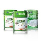 3A 内墙漆乳胶漆套装 白色环保漆活碳五合一 抗甲醛