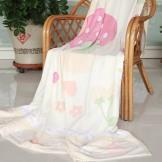 天源家纺竹纤维毛巾被 单人双人夏季毛毯沙发毯
