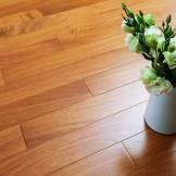 安信木地板 非洲缅茄(菩提)全实木地板 地暖地热地板